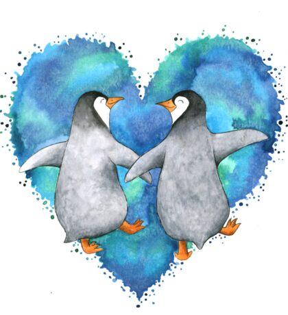 Happy Penguins  Sticker
