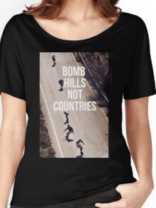 east bomb hills Women's Relaxed Fit T-Shirt