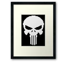 Pixel Punisher Framed Print