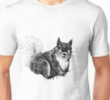 Squirrel drawing Unisex T-Shirt