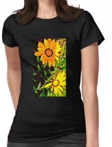 Through Van Gogh Eyes Womens Fitted T-Shirt