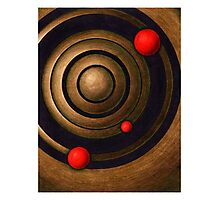 The Music of the Spheres - Original Abstract Artwork Photographic Print