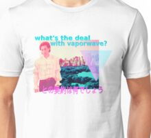 what's the deal with vaporwave? Unisex T-Shirt
