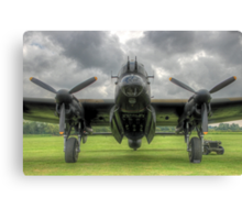 Just Jane - Stormy Skies - HDR Canvas Print