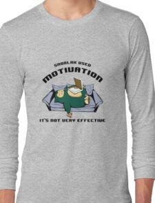 snorlax pizza Long Sleeve T-Shirt