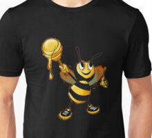 Cute Silly Funny Happy Little Honey Bee Emoji Shirt  Unisex T-Shirt