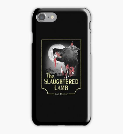 American Werewolf In London - Distressed Yellow Variant iPhone Case/Skin