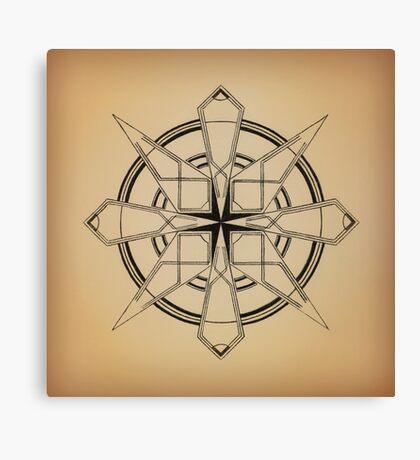Mandala #110 || Tan Canvas Print