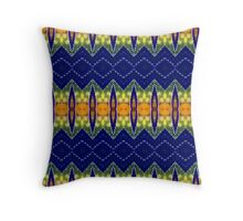 Strip of Spike (VN.425) Throw Pillow