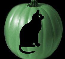 ╭∩╮( º.º )╭∩╮GREEN PUMPKIN & CAT-PAW PRINTS -BLANK CARD / PICTURE SERIES ONE╭∩╮( º.º )╭∩╮ by ✿✿ Bonita ✿✿ ђєℓℓσ