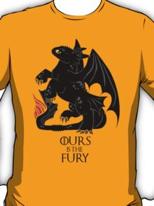 Ours is the night fury T-Shirt
