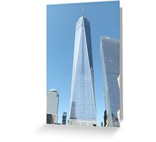 The New World Trade Center, Lower Manhattan, New York City  Greeting Card