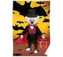 ✾◕‿◕✾TEDDY BEAR IS OFF TO A HALLOWEEN PARTY✾◕‿◕✾ Poster