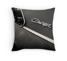 Dodge Charger Throw Pillow