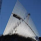 The New World Trade Center Transit Hub Oculus, Santiago Calatrava, Architect, wer Manhattan, New York City,  by lenspiro