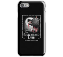 American Werewolf In London - Distressed White Variant iPhone Case/Skin