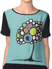 Bird on a tree Chiffon Top