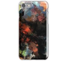 Contemporary Abstract Painting iPhone Case/Skin