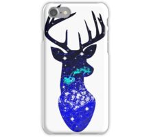 Double Exposure Reindeer iPhone Case/Skin