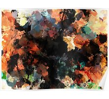 Contemporary Abstract Painting Poster