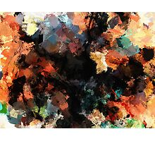 Contemporary Abstract Painting Photographic Print
