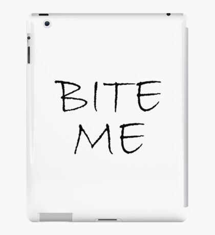 Bite Me Zombie iPad Case/Skin