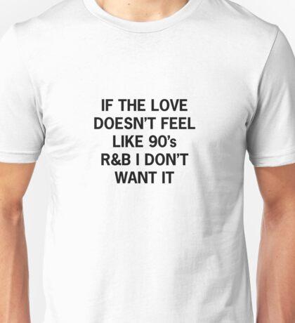 90's R&B Unisex T-Shirt