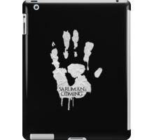 saruman is coming iPad Case/Skin