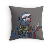 """The bomb has been planted."" Throw Pillow"