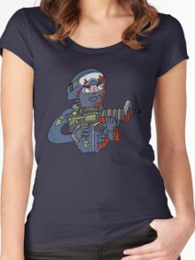 """The bomb has been planted."" Women's Fitted Scoop T-Shirt"