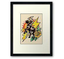 Blitzle Framed Print