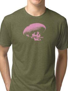 Sombrero de los Muertos - pink Tri-blend T-Shirt