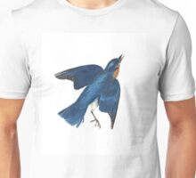 Blue Bird - John James Audubon Unisex T-Shirt