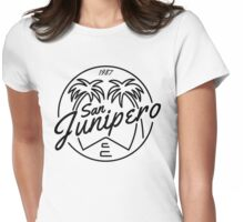 Black Mirror San Junipero Light Womens Fitted T-Shirt