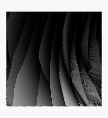 Abstract black 188 Photographic Print