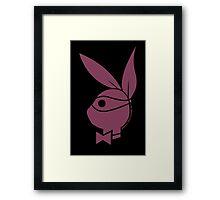 Playboy Turtle: Donatello Framed Print