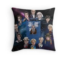 Lords of Time Throw Pillow