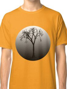 Tree Silhouette in Moonlight Classic T-Shirt
