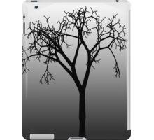 Tree Silhouette in Moonlight iPad Case/Skin