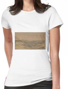 Fukeiga 21 - Hiroshige Ando - 1890 Womens Fitted T-Shirt