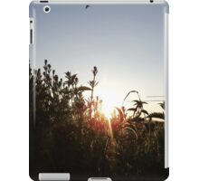 Canal Sunset iPad Case/Skin