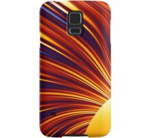 Color & Form Abstract - Solar Gravity and Magnetism 1 Samsung Galaxy Case/Skin
