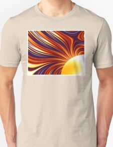 Color & Form Abstract - Solar Gravity and Magnetism 1 Unisex T-Shirt