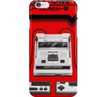 Famicom Console iPhone Case/Skin