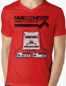 Famicom Console Mens V-Neck T-Shirt