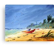 Puerto Rico - Maunabo Beach Canvas Print