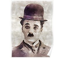 Charlie Chaplin Classic Hollywood Poster