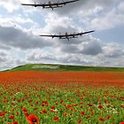 The Two Lancasters - We Remember Them ! by Colin J Williams Photography