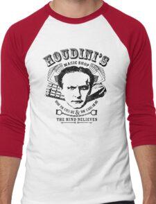 Houdini's Magic Shop Men's Baseball ¾ T-Shirt