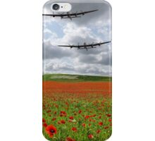 The Two Lancasters - We Remember Them ! iPhone Case/Skin